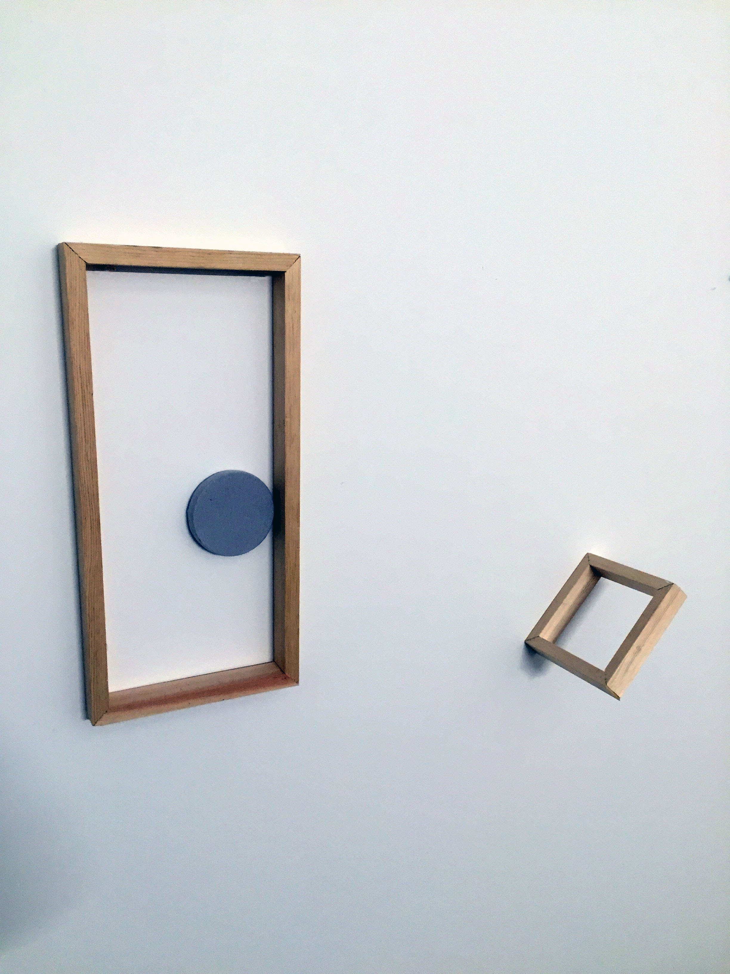 Wood, Paint, Distance, Space, 2015