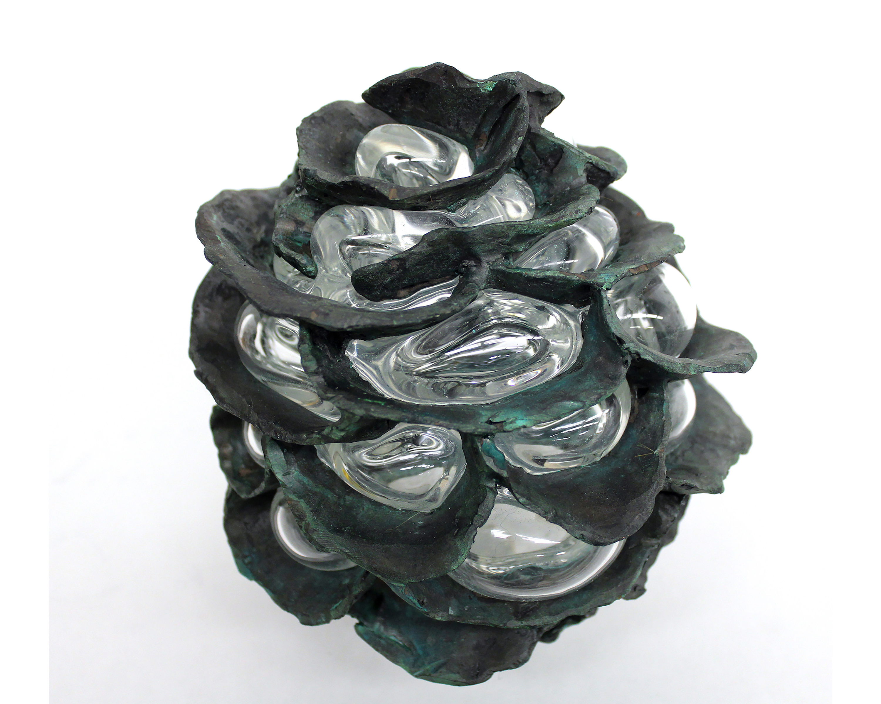 Bronze, Glass. 2016