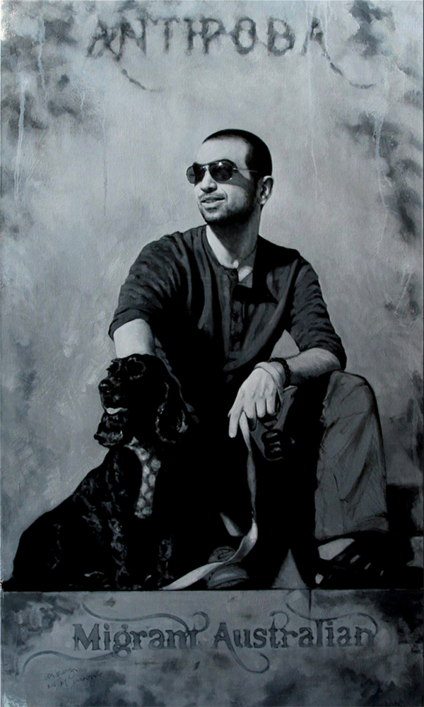 Oil on canvas, 25 x 45 inches, 2012