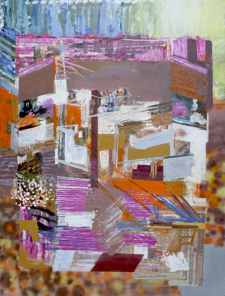 Oil on canvas, 63 x 48 inches, 2012