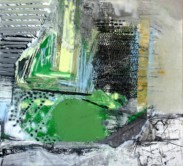 Oil on canvas, 51 x 55 inches, 2012