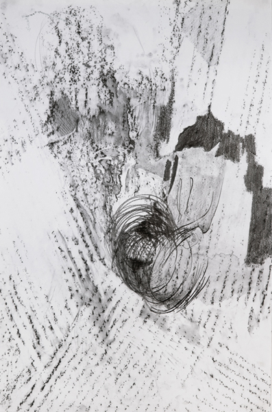 Graphite on paper, 45 X 30 inches, 2011