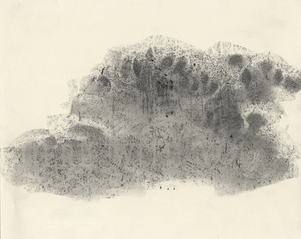 Graphite and charcoal on paper, 11 X 13 inches, 2011