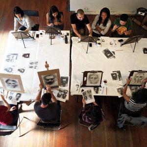 Drawing Workshop: Faces - Virtual