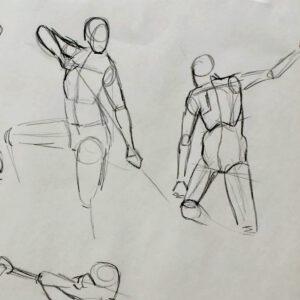 Gesture Drawing Workshop - Virtual
