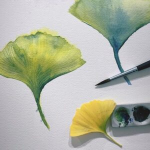 Watercolor Botanicals Workshop B - Virtual
